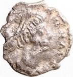 1797D Quarto di siliqua 527-534 Iscrizione entro corona di alloro Ravenna Argento