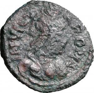 1794D Mezzo follis da 20 nummi 526-534 Albero tra due aquile Roma Bronzo