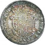 85R Lira da 20 soldi 1732 Scudo a cartoccio 1° tipo Torino Argento