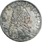 85D Lira da 20 soldi 1732 Scudo a cartoccio 1° tipo Torino Argento