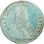 78D Mezzo scudo da 2,10 lire 1735 Scudo sagomato Milano Argento