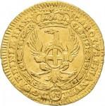 43-001D Mezzo zecchino da 4,17 lire 1745 Annunciazione Torino Oro