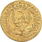 46D Mezzo zecchino da 4,17 lire 1746 Annunciazione Torino Oro