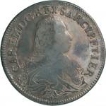 67D Scudo da 5 lire 1733 Scudo sagomato Torino Argento