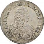 73D Scudo da 5 lire 1733 Scudo sagomato Torino Argento