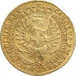 38D Zecchino da 9,15 lire 1745 Annunciazione 2° tipo Torino Oro