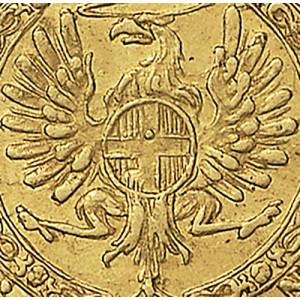 41P Zecchino da 9,15 lire 1746 Annunciazione 2° tipo Torino Oro