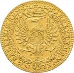 41D Zecchino da 9,15 lire 1746 Annunciazione 2° tipo Torino Oro