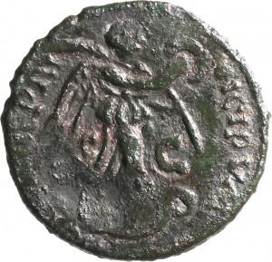 1798R Follis da 40 nummi 534-536 Vittoria Roma Bronzo