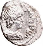 1792D Quarto di siliqua 493-498 Monogramma Mediolanum o Ticinium Argento