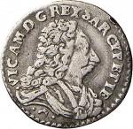 23RD Mezzo reale da 2,6 soldi 1727 Croce di San Maurizio Torino Argento