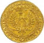 34D 4 zecchini da 36 lire 1746 Annunciazione Torino Oro