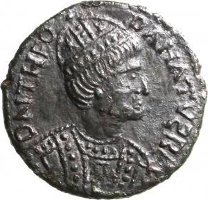 1798D Follis da 40 nummi 534-536 Vittoria Roma Bronzo