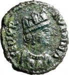1791D 10 nummi 493-526 Monogramma Ravenna Bronzo