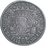 71R Scudo da 5 lire 1733 Scudo sagomato Torino Argento