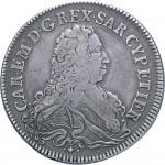 71D Scudo da 5 lire 1733 Scudo sagomato Torino Argento
