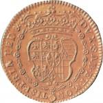 1R Doppia da 4 scudi 1722 Scudo sagomato Torino Oro