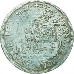 78R Mezzo scudo da 2,10 lire 1735 Scudo sagomato Milano Argento