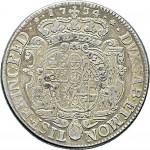 74R Scudo da 5 lire 1734 Scudo sagomato Torino Argento